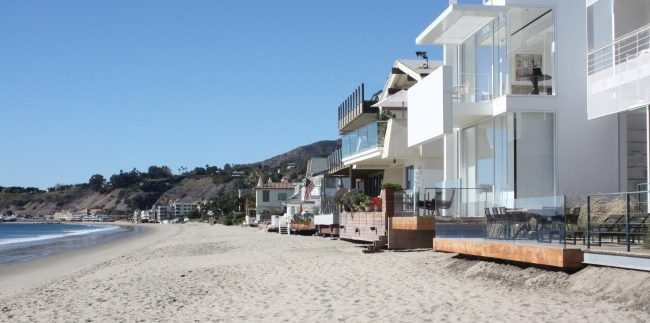 Malibu Beachfront Homes for Sale