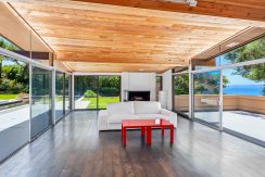 Gorgeous Mid Century white water view home